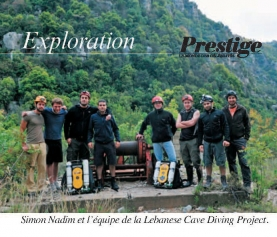Jeita cave diving expedition (french)